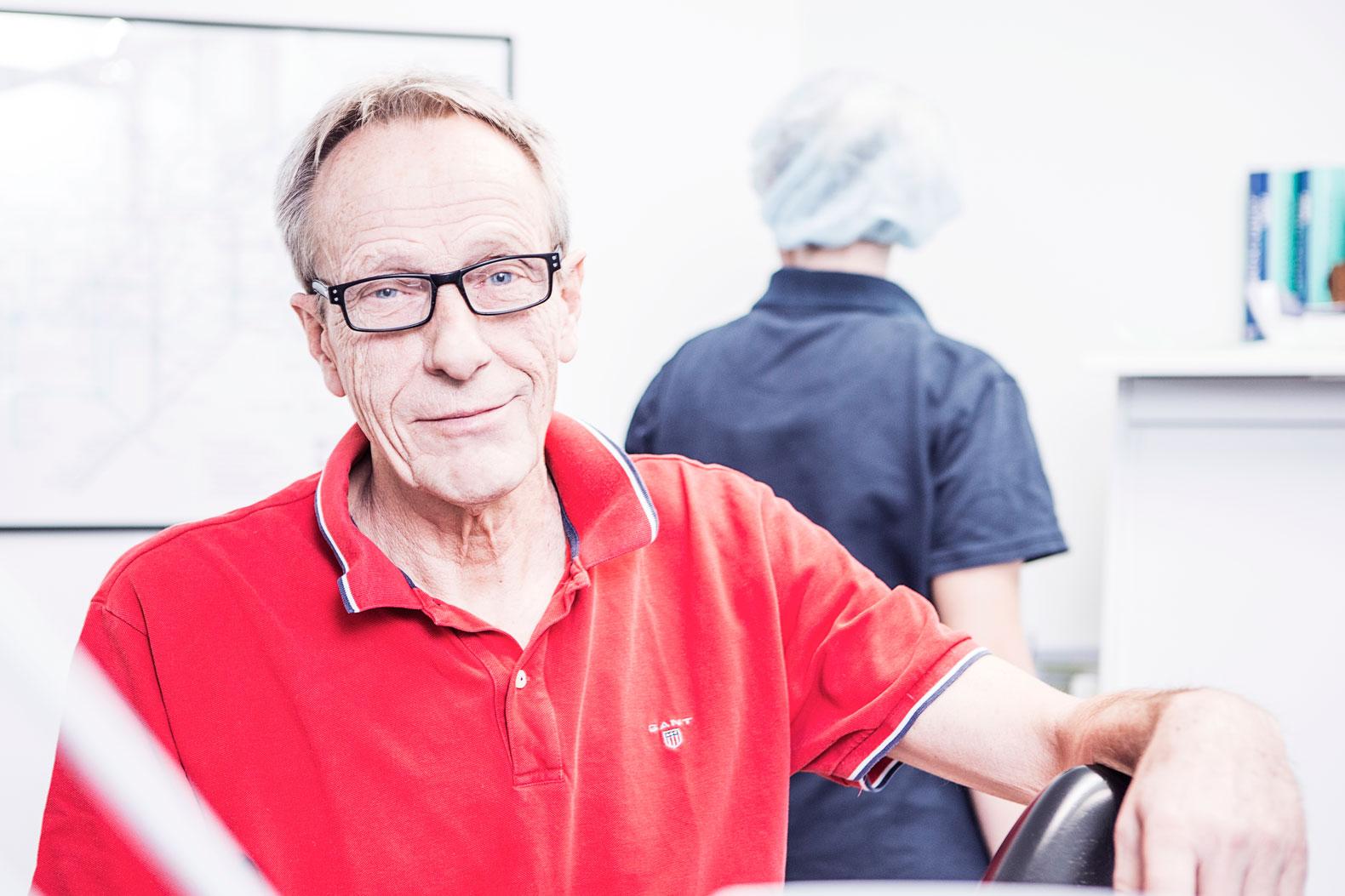 Kæbekirurg Nils Worsaae
